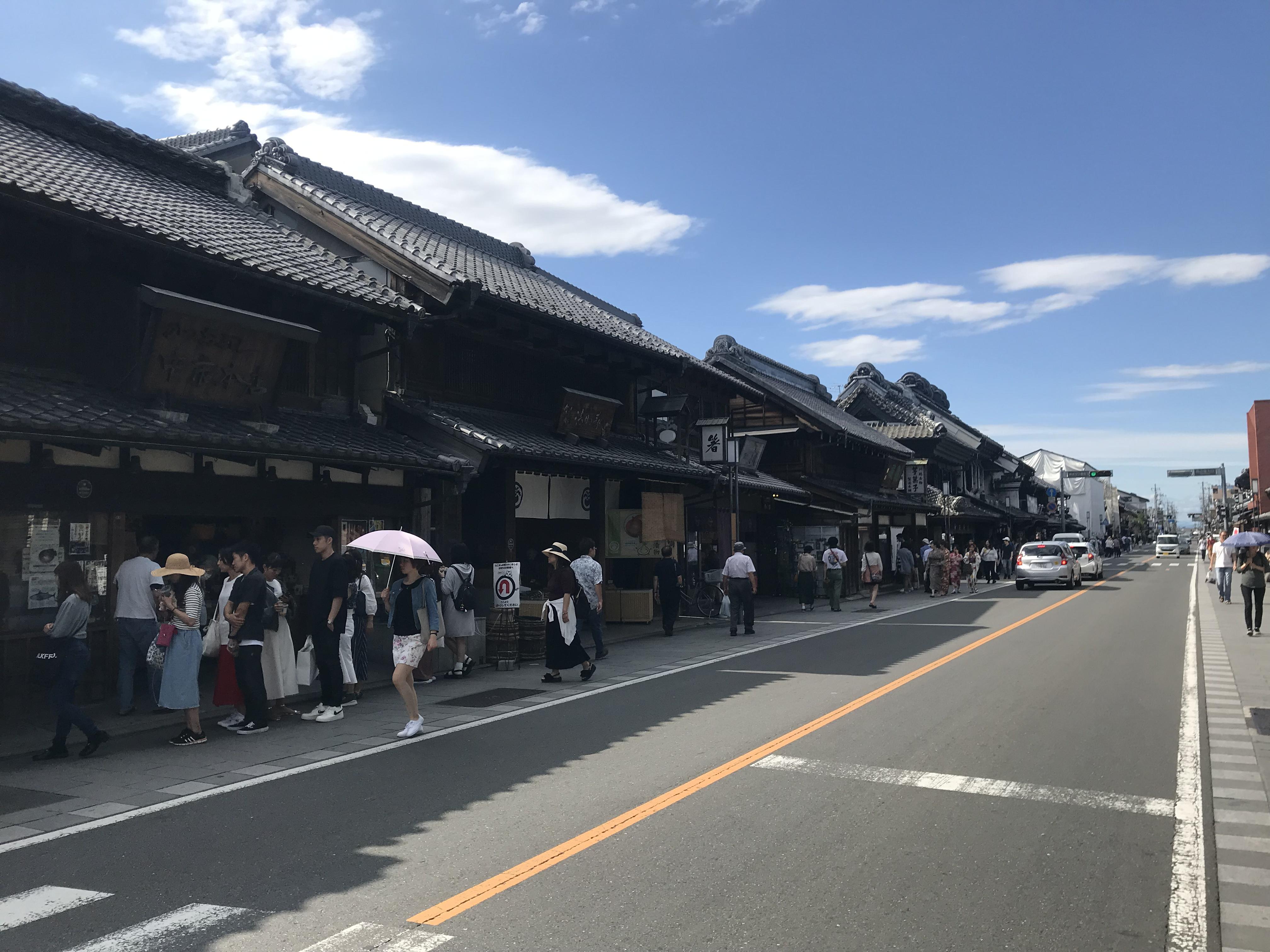 "Koedo Kawagoe in Japan. ~Let's go to Historical city ""Kurazukuri"" right now!~"