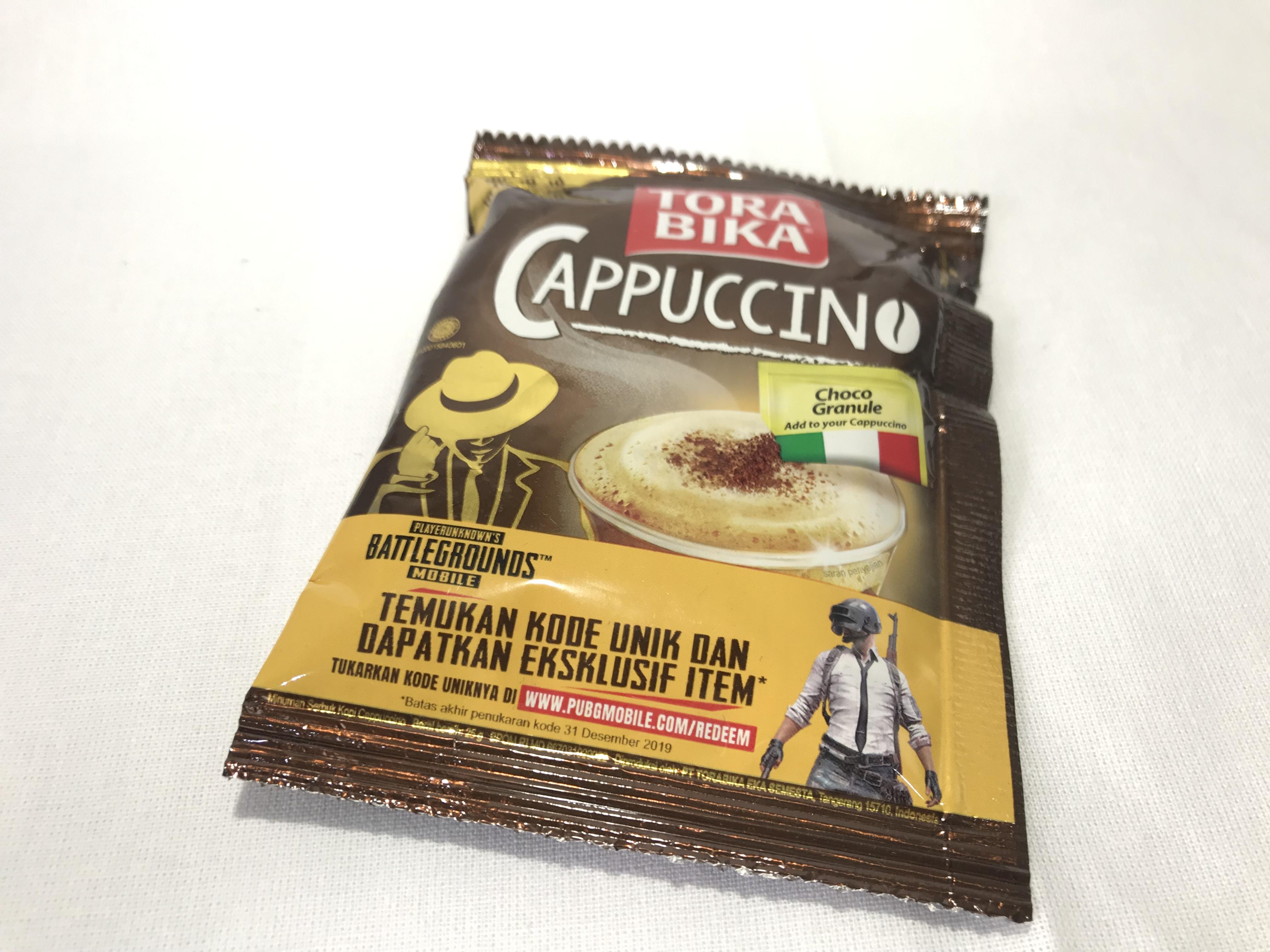 """絶対に買った方が良いインドネシア土産(インスタントコーヒー) """"TORABIKA CAPPUCCINO"""""""