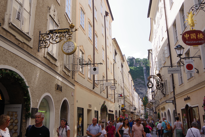 【オーストリア観光情報】見どころ満載!ザルツブルク1日観光モデルコースとおすすめスポット その1